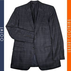 Brooks Brothers 42R Regent Windowpane Sport Coat